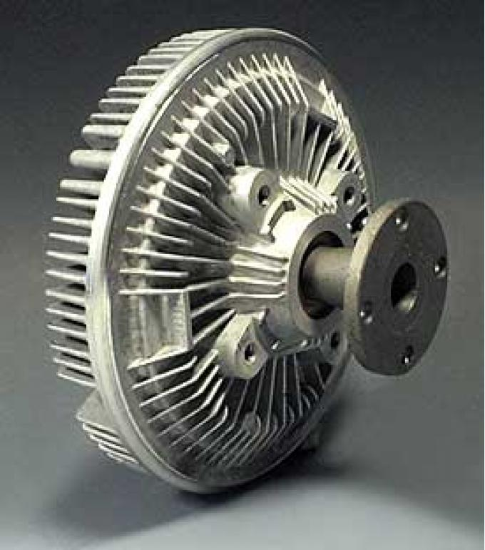 Corvette Cooling Fan Clutch Assembly, With L82 & Air Conditioning, AC Delco, 1974-1982