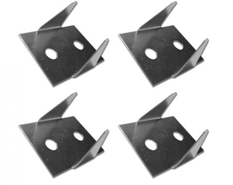 Corvette Transmission Tunnel Installation Clips, 1963-1976