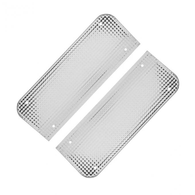 Trim Parts 56-60 Corvette Filler Plates, Pair 5261