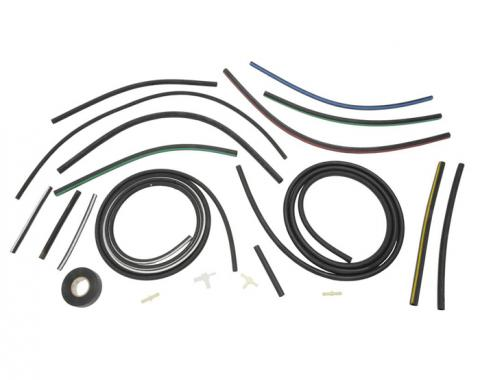 Corvette Headlight & Windshield Wiper Vacuum Hose Kit, 1973-1979