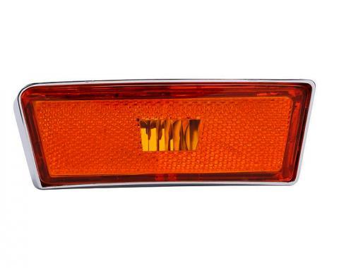 Trim Parts 70-72 Corvette Front Marker Light Assembly, Left Hand, Each 5341