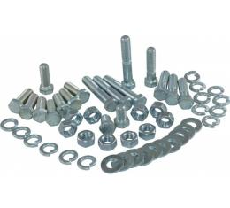 Corvette Rear Bumper Mount Bolt Kit, 52 Piece, 1958-1960