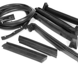 Corvette Weatherstrip Kit, Convertible Top 7 Piece, Import, 1986-1996