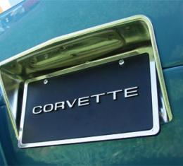 Corvette Rear License Bezel, 1963-1967