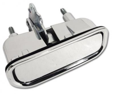 Corvette Door Handle Assembly Left, Import, 1969-1982