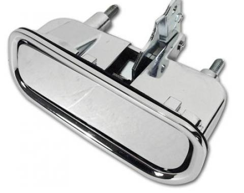Corvette Door Handle Assembly Right, Import, 1969-1982