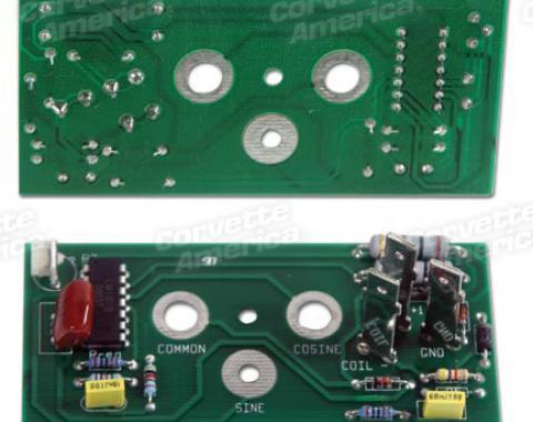 Corvette Tach Printed Circuit Board, 1975-1977