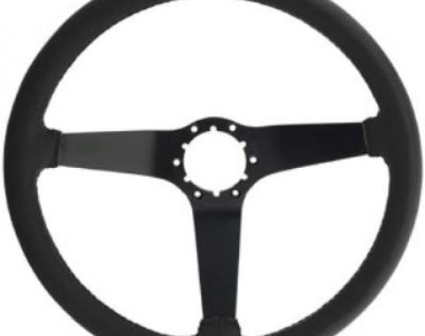 Corvette Steering Wheel, Black Reproduction (20), 1980-1981