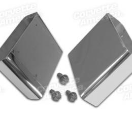 Corvette Exhaust Extensions, LT1 Style 100% Stainless Steel, 1992-1996