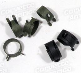Corvette Fuel Line Hose Clamps, AFB or Fuel Injection, 1965