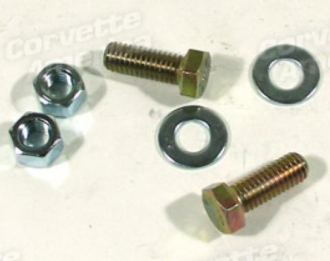 Corvette Transmission Mount Bolt Kit, Brkt-Frame, 1963-1967