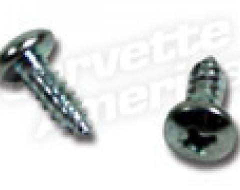 Corvette Vent Cable Mount Screws, 1963-1964