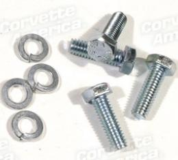 Corvette Hood Pop-Up Bolt Set, 8 Piece, 1953-1957