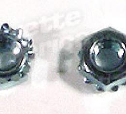 Corvette Wiper Door Actuator Mount Nuts, 1969-1972