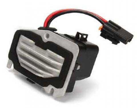 Corvette Fan Blower Motor Module, With Dual Zone Air Conditioning, 1997-2004