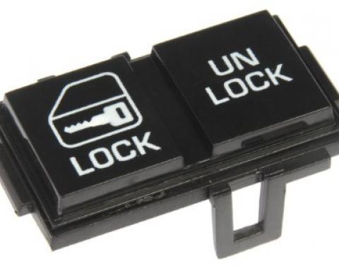 Corvette Power Door Lock Switch, Left, 1984-1985