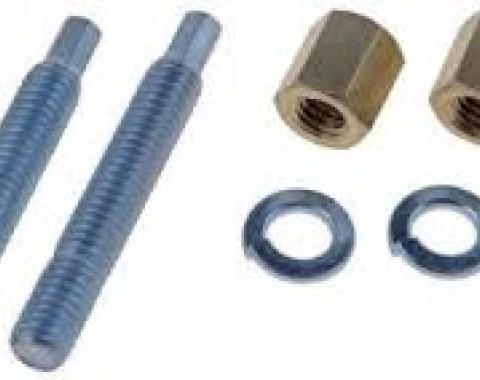 "Exhaust Flange Stud and Nut Set, 3/8""-16 x 2-1/2"""
