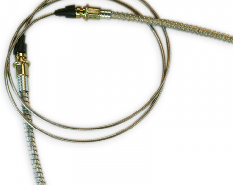 Corvette Parking Brake Cable, Rear, 1965-1982