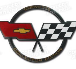 Corvette Emblem, Gas Lid Collector, 1982