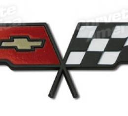 Corvette Emblem, Gas Lid, 1982