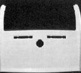 Corvette Rear Deck Panel, Convertible, ACI, 1974-1975