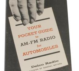 Corvette Pocket Guide, AM/FM, 1963