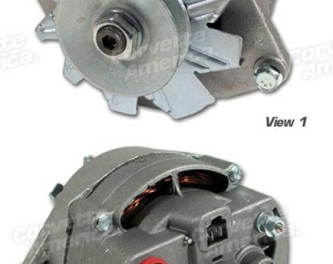 Corvette Alternator, 42 AMP without Air Conditioning Remanufactured, 1963-1968