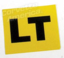 Corvette Decal, Valve Cover Eng Cd-Lt, 1969