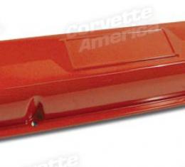 Corvette Valve Covers, Small Block, Orange, 1962-1966