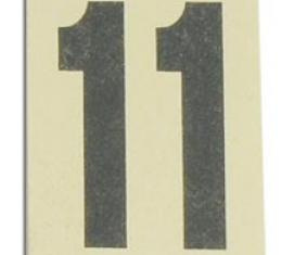 Corvette Label, Jack Board Carpet Inspect #, 1965-1967