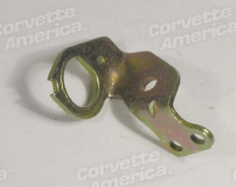 Corvette Carb Idle Stop Solenoid Bracket, Holly, 1971-1972