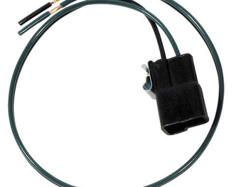 Corvette Speaker Harness, Radio to Plug with Clip, 1958-1967