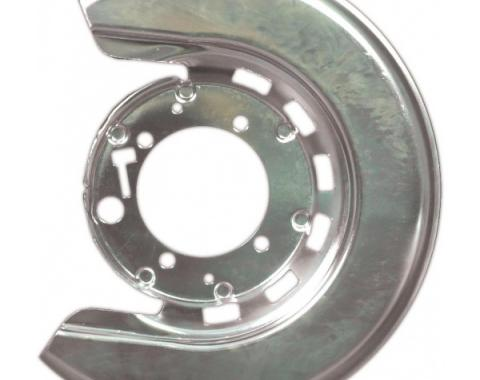 Corvette Brake Caliper Shield, Right, Rear, 1965-1975