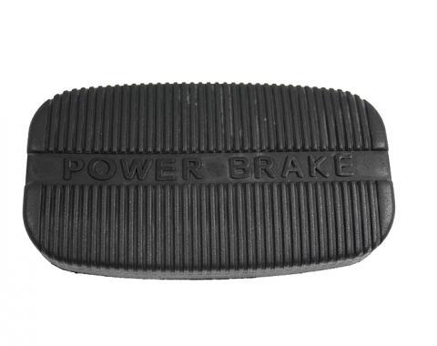 Corvette Pedal Pad, Power Brake Auto, 1963-1967