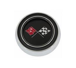 Trim Parts 65-66 Corvette Standard Horn Button Assembly, Each 5056