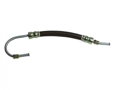 Corvette Power Steering Hose, Cylinder Extend, Small Loop, 1963-1982