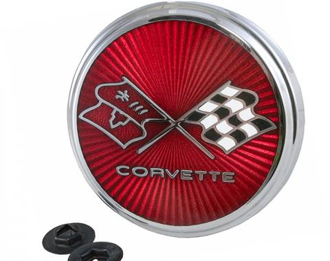Trim Parts 75-76 Corvette Front Emblem, Each 5961
