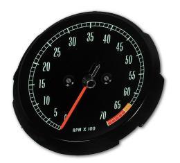 Corvette Tachometer, 6500 RPM, 1965-1967
