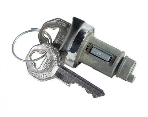 Corvette Ignition Lock, With Original Key, 1953-1964