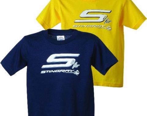 Corvette, S is for Stingray T-Shirt