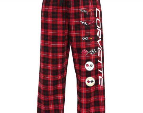 Corvette Generations Flannel Pants