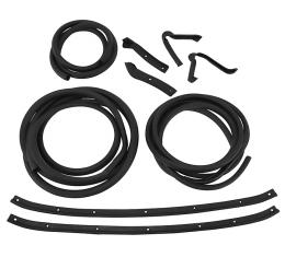 Corvette Weatherstrip Kit, Body Coupe 9 Piece, USA, 1963-1967