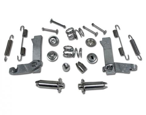 Corvette Parking Brake Rebuild Kit, Anti-Corrosive, 1965-1982