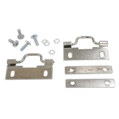 Corvette Convertible Top Bow Swing Latches, Rear, 1956-1960