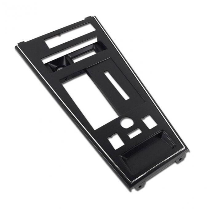 Corvette Shifter Console Trim Plate, For Cars With Power Windows & Power Mirror, 1981-1982