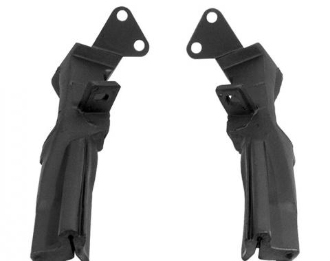 Corvette Weatherstrip, Convertible Top Rear Bow Fillers, USA, 1961-1962
