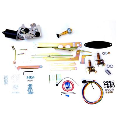 Corvette Raingear Windshield Wiper Kit, 2-Speed, Without Delay, 1958-1962