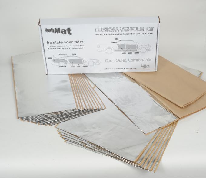 HushMat Dodge Dart 1962   Sound and Thermal Insulation Kit 66261