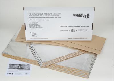 HushMat Mitsubishi Lancer 2005-2006   Sound and Thermal Insulation Kit 65009