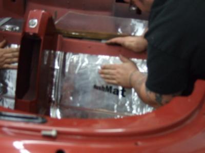 HushMat Chevrolet Corvette 1963-1967   Trunk Sound and Thermal Insulation Kit 627634